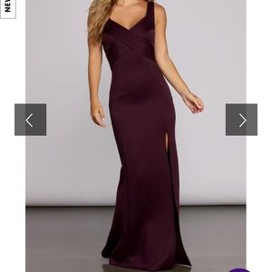 Windsor Long Purple Dress